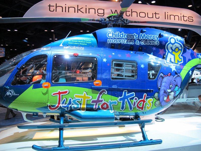 EC-145 Eurocopter Childrens Medical
