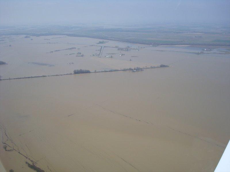 Poplar Bluff, MO flooding 3-22-08