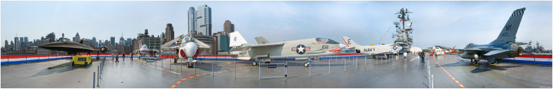 USS Intrepid Flight Deck 360