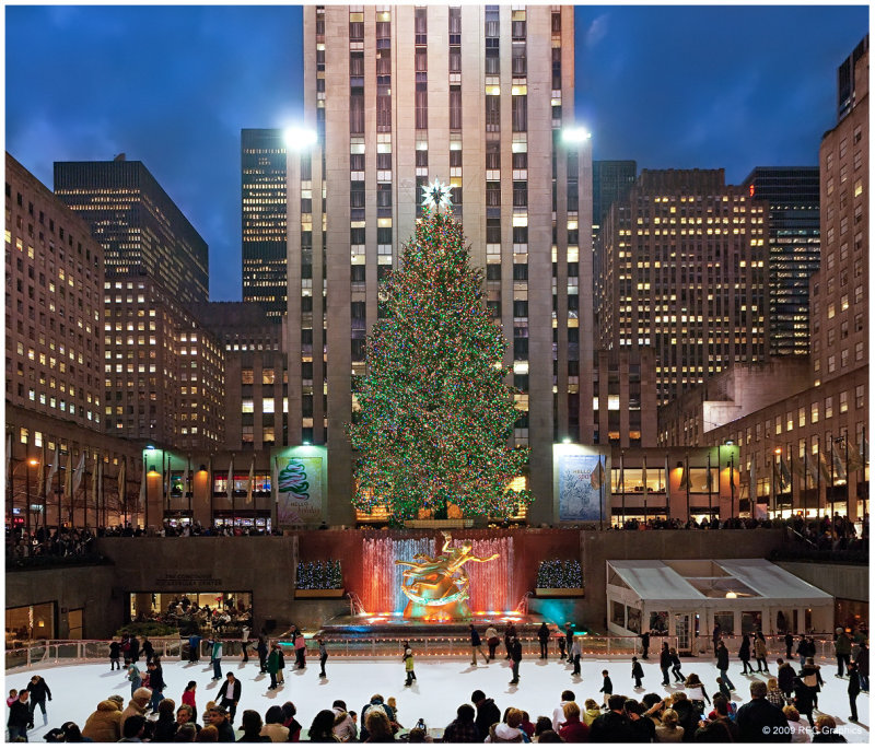 Rockefeller Center Christmas Tree 2009 II