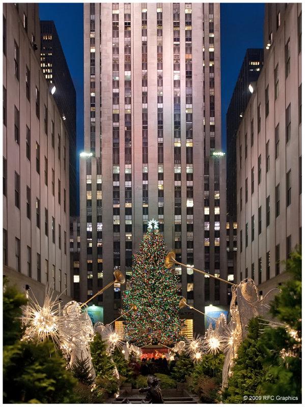 Rockefeller Center Christmas Angels