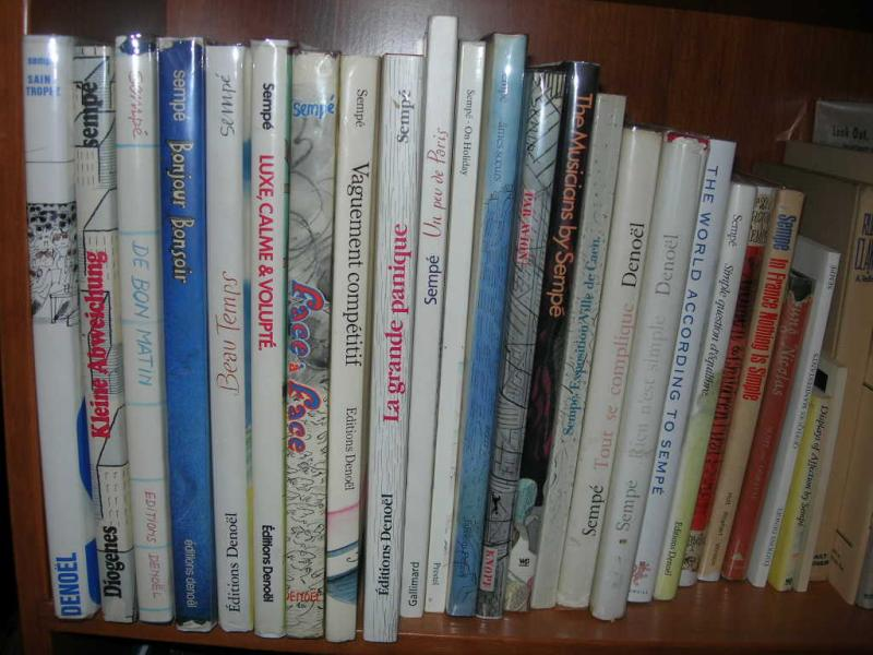 Heres what some of them look like on the shelf.