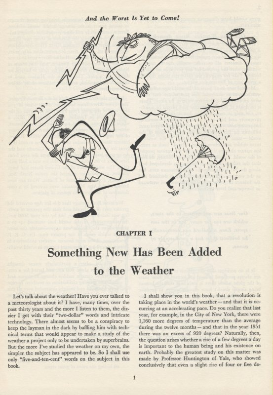 Todays Revolution in Weather example of cartoon