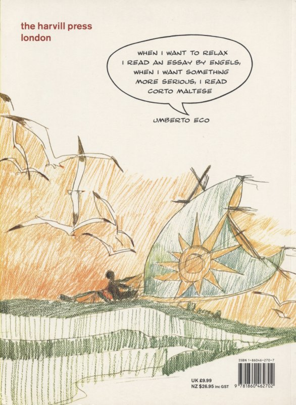 Ballad of the Salt Sea back cover