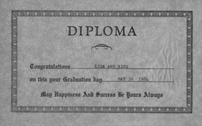 Lisa - Diploma