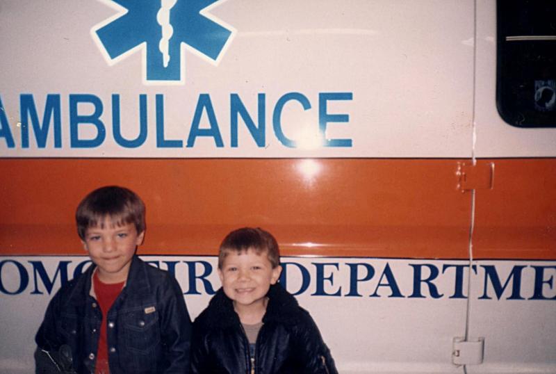 Ben & Wayne - Firemen
