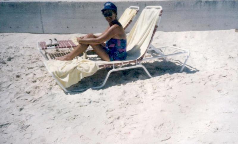Brenda at Beach