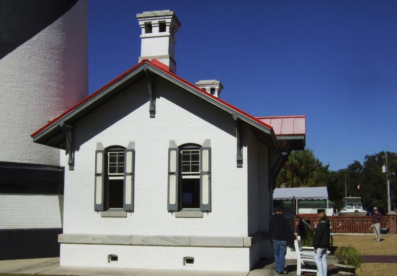 St Augustine lighthouse fuel house