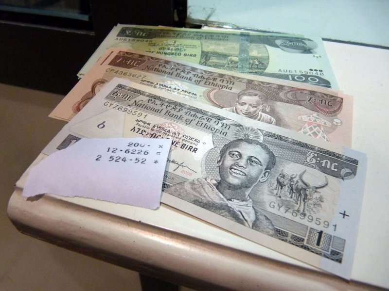 Ethiopian money - how much is US$200?