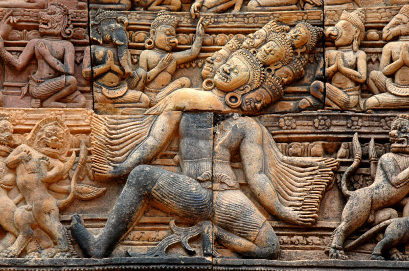 multi-headed demon Ravana