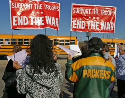 End the War Green Bay Packers