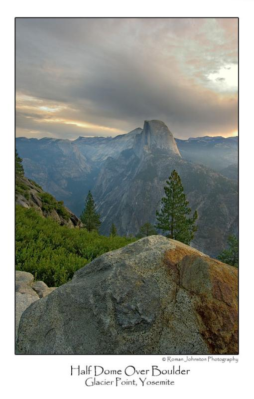 Half Dome Over Boulder.jpg   (Up To 30 x 45)