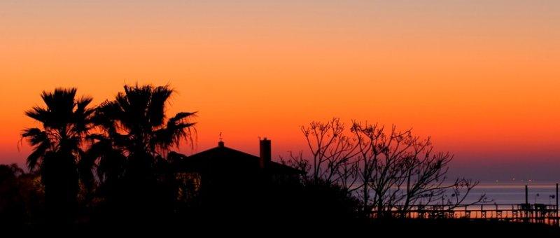 Winter Sunset on Copano Ridge2