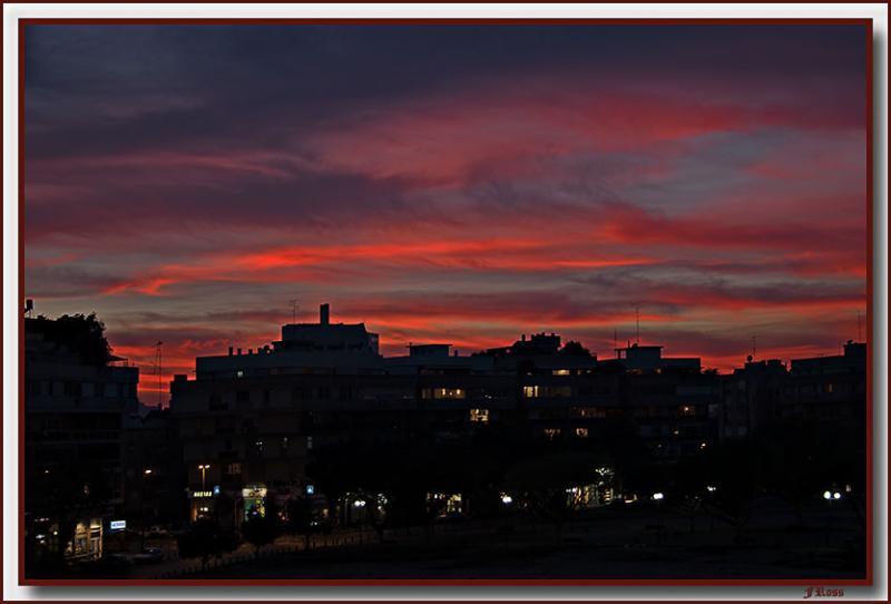 Kikar Hamedina Sunset in Winter.jpg