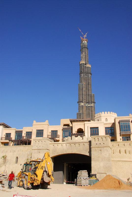 Burj Dubai and the Old Town Island