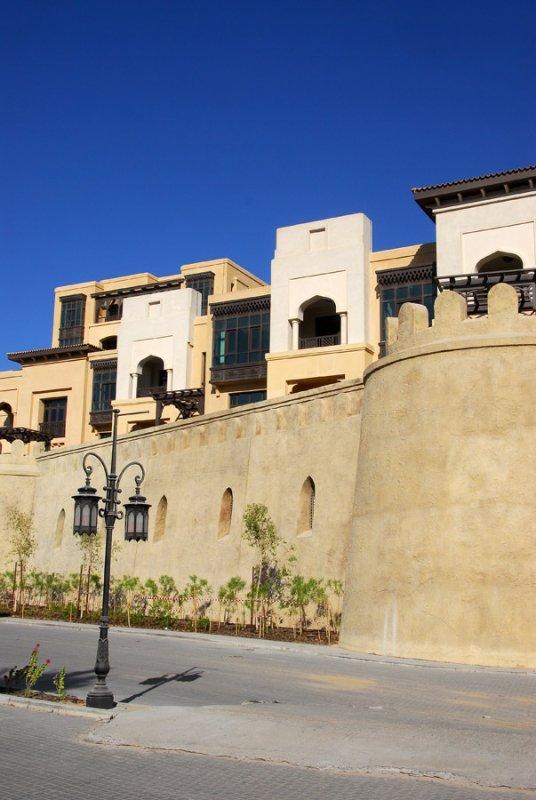 The Old Town Island at Burj Dubai