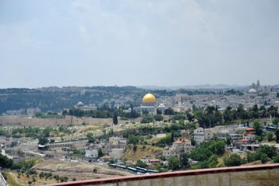 First view of Jerusalems Old City