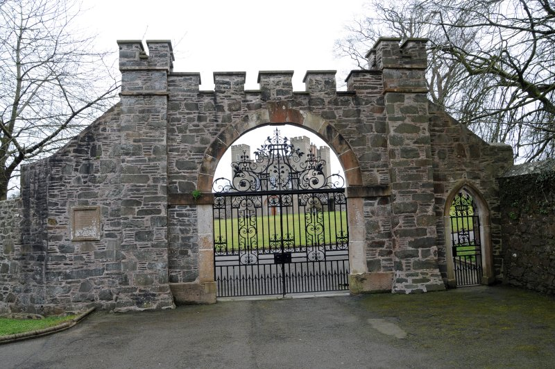 Gates at Hillsborough Fort