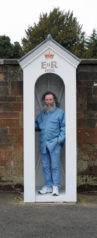 Bill Mondjack in guard station