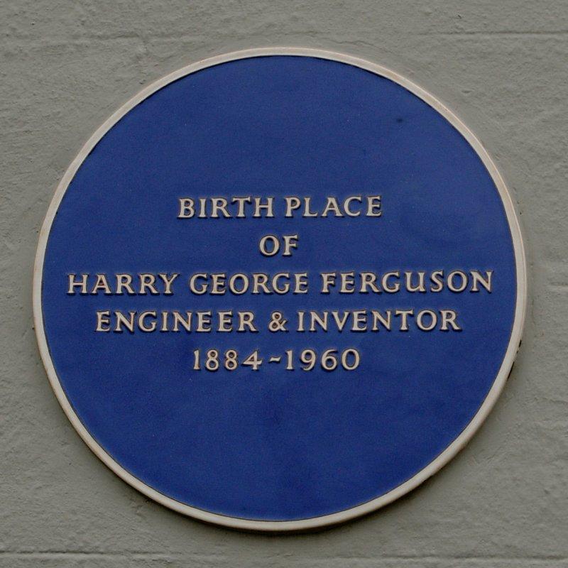 Harry Ferguson plaque