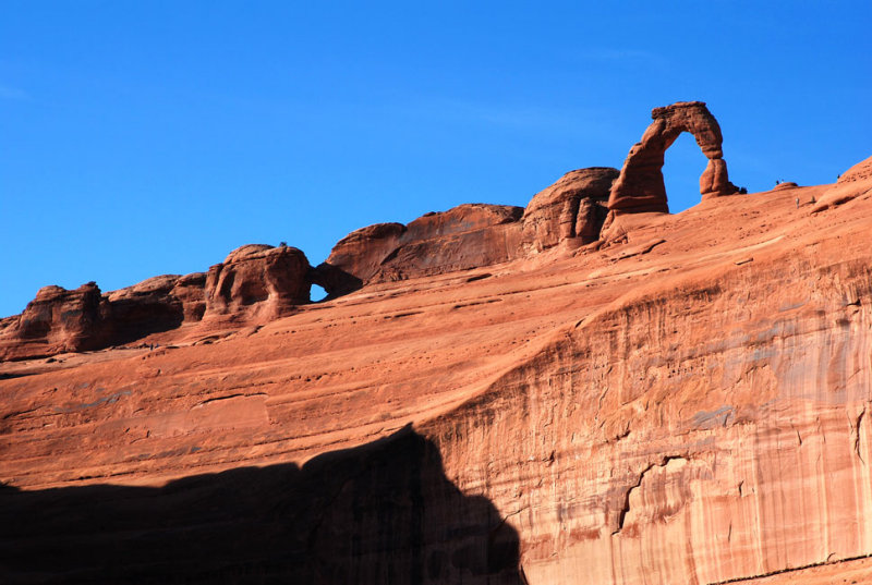 Ever-present: Delicate Arch, standing above everything
