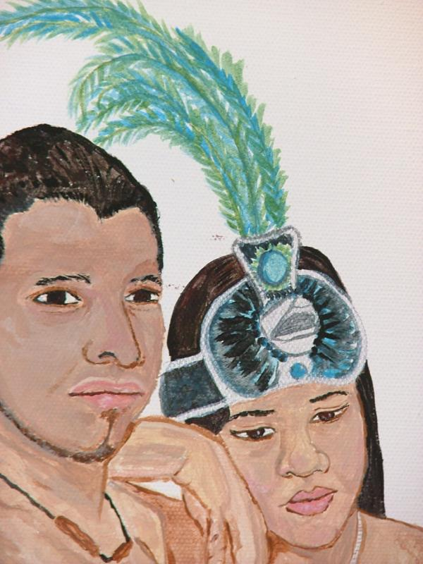 Aztec Couple