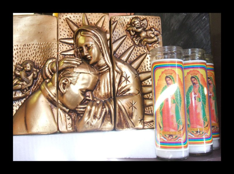VIRGEN DE GUADALUPE AND THE POPE