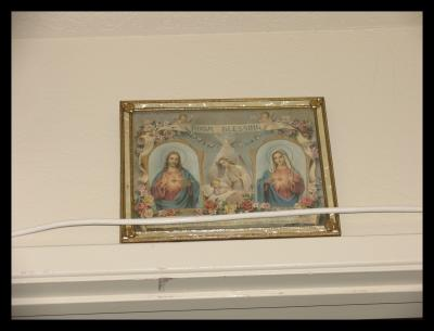 Jesus Cristo and the Virgin Mother picture Ive had for over 20 years.