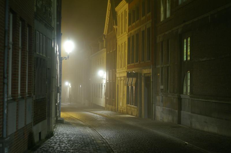 Foggy street 1