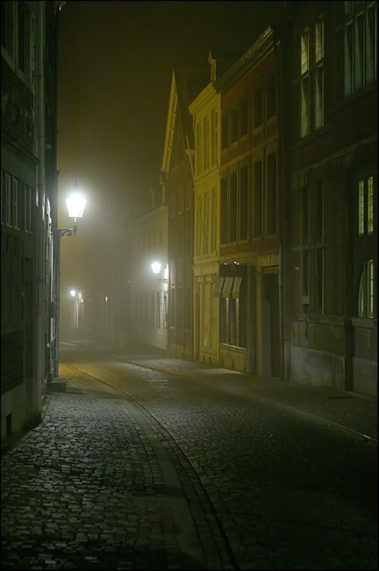 Foggy street 2