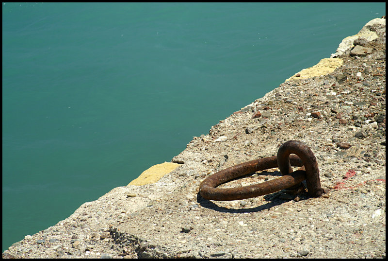 rusty tie-up