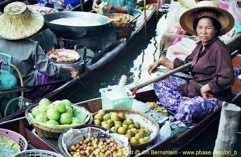 Floating Market , Thailand , 1998