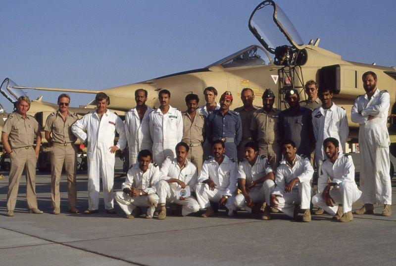 Aubu Dhabi Detachment 1984