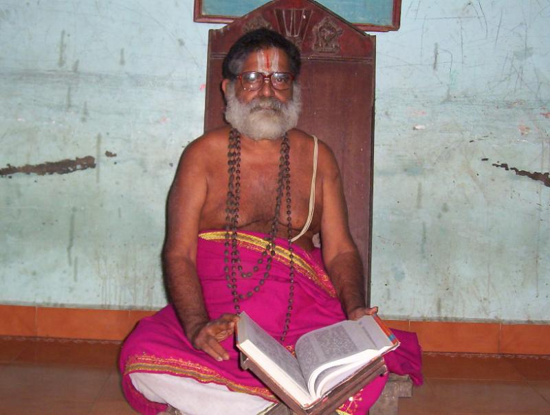 U.Ve. Ko.Ka.Appan Ramanujachariar Swamy of Ko.Ka.Venkatachariar Thirumaligai , SriperumbUdUr
