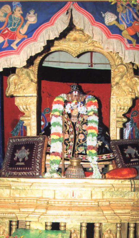Ramanuja-on-Vaikunda-dwadashi-sriperumbudur(Golden Mandapam)