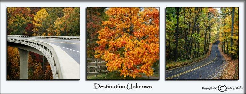Destination Unknown<p>November 13