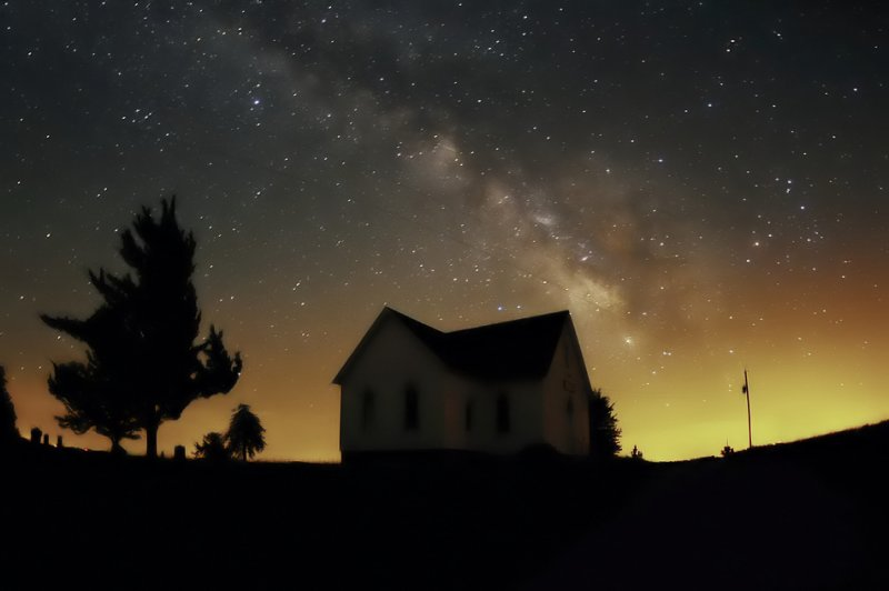 Milky Way over Mt. Zion Church