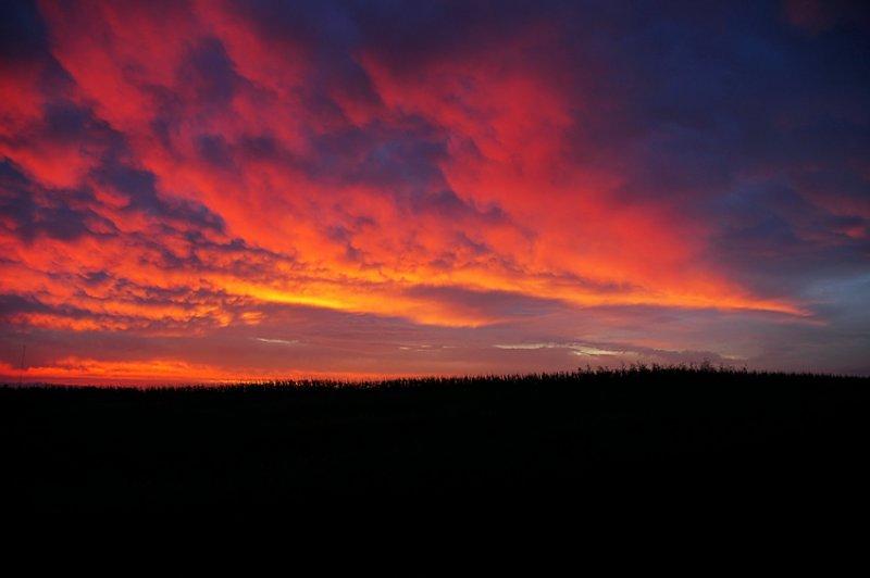 Morning Sunrise Composition 2