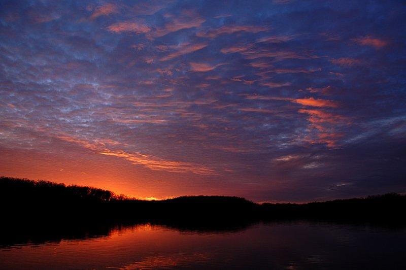 Sunset Cloud Patterns