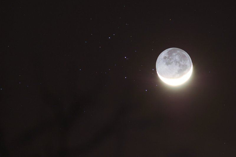 The Moon visits the Pleiades