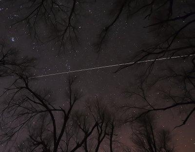 International Space Station over Missouri
