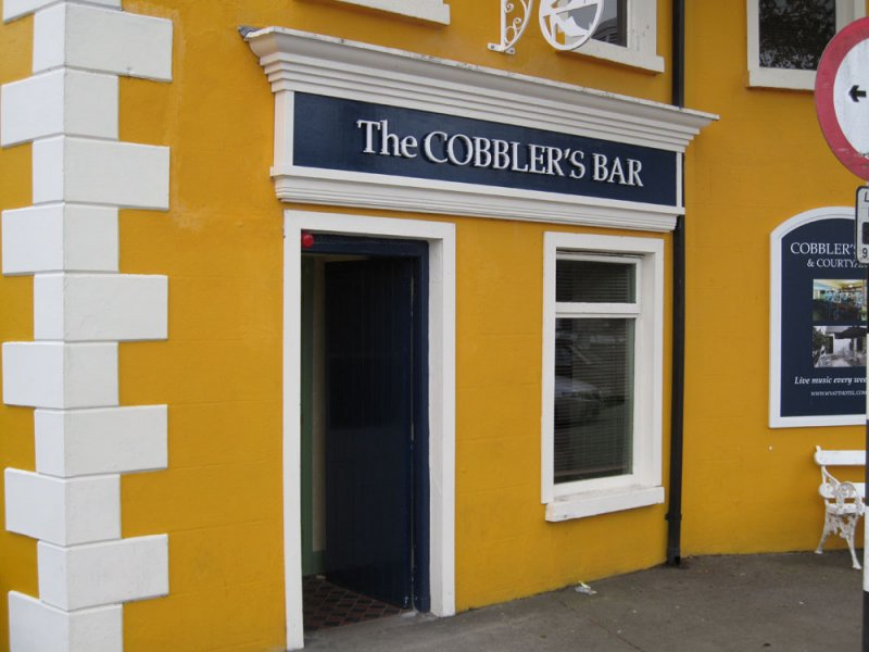 The Cobblers Bar, Westport