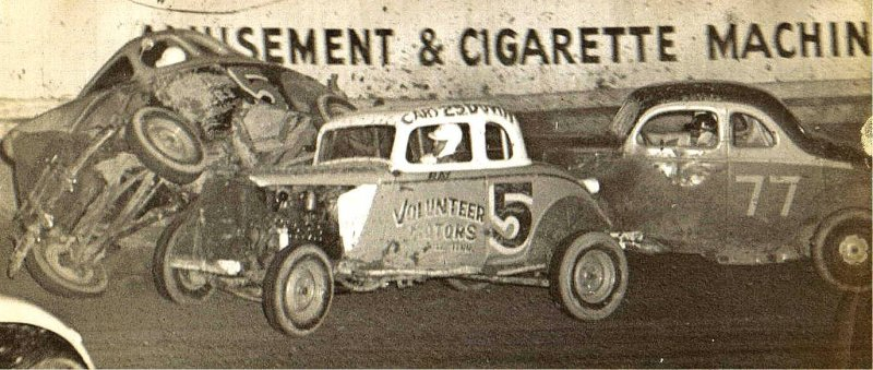 Ray Davenport #5 in Tony Formosas first race car.