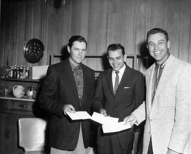 Herb Lewis Jimmy Griggs, and Bob Reuther