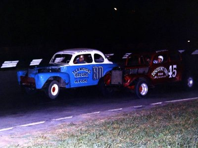 Doc Norris 80 and Boyd Adams 45