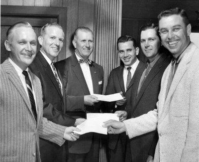 Bennie Goodman, Alvin G. Beaman , Bill Donoho, Jimmy Griggs, Herb Lewis, and Bob Reuther.