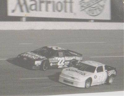 Sterling Marlin and Nicky Formosa  Fairgrounds Speedway 1988