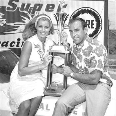 NASCAR driver Dick Hutcherson
