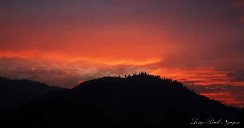 Red Sky in Chelan