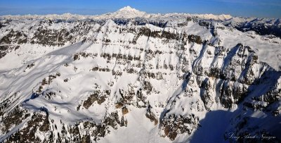 Columbia Peak, Monte Cristo, Glacier Peak